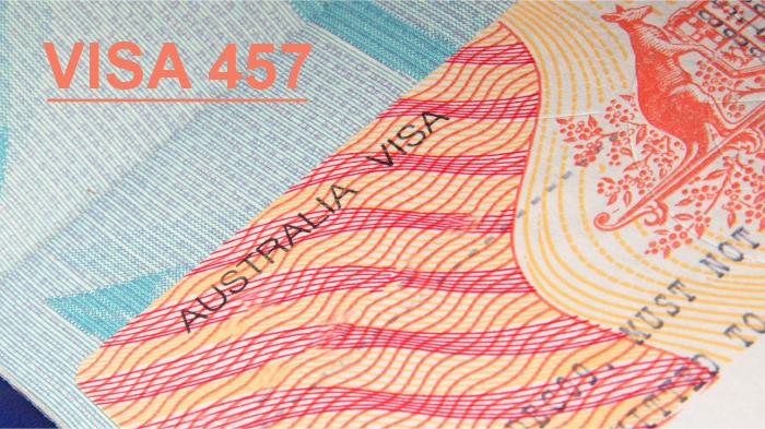Visa 457 được thay thế bằng visa tạm thời mới