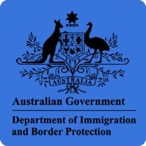 Logo của bộ di trú Úc