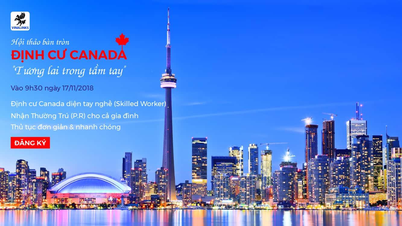 Hội thảo định cư Canada diện tay nghề